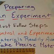 Preparing an Experiment