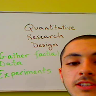 Quantitative Research Designs