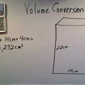 Converting Metric Volume