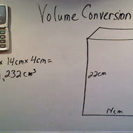 Converting Metric Volume