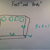 Relating Feet Cubed and Yards Cubed
