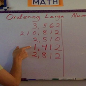 Ordering Large Numbers
