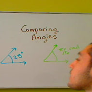 Comparing Angles