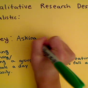 Qualitative Research Designs
