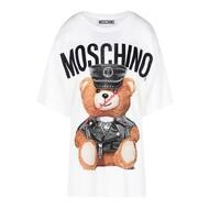 Moschino Dressed Bear T-Shirt White