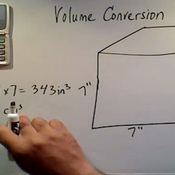 Volume Conversion