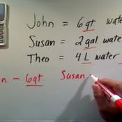Comparing Liquid Volumes