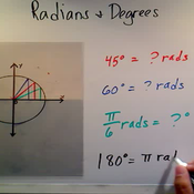 Relating Radians and Degrees