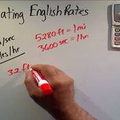 Relating English Rates
