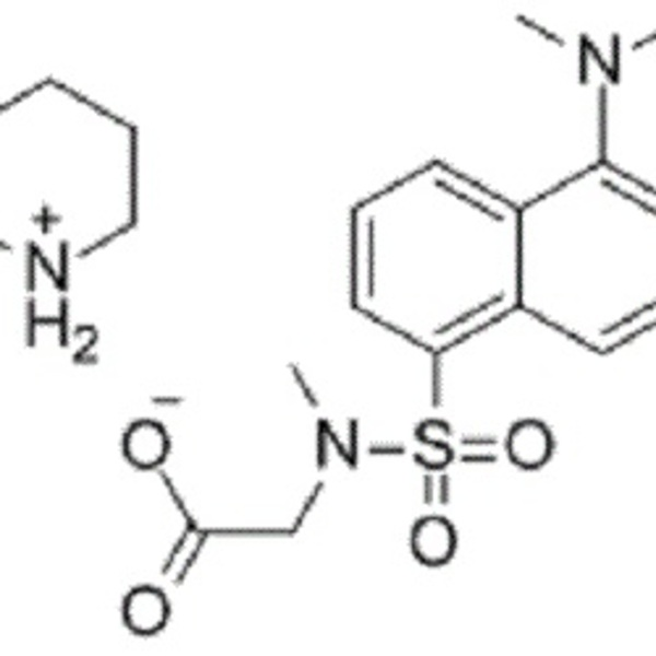 Dansyl sarcosine piperidinium salt