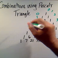 Determining Combinations with Pascal's Triangle
