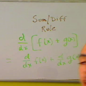 The Sum Difference Rule