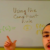 Taking the Derivative of a Constant