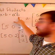 Finding the Dot Product