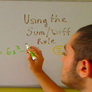 Using the Sum Difference Rule