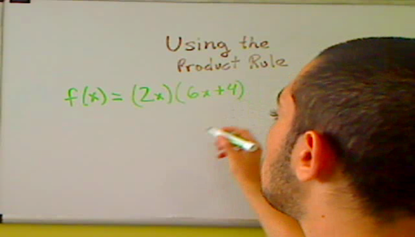 Using the Product Rule