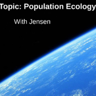 Population Ecology: Carrying Capacity
