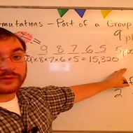 Calculating Permutations of Part of a Group
