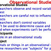 Prospective and Retrospective Studies