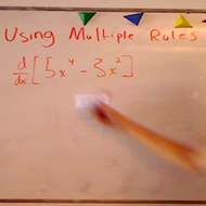 Using Multiple Derivative Rules