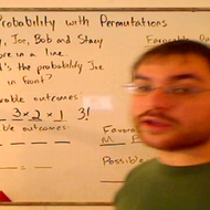 Determining Probability with Permutations