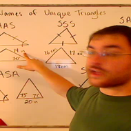 Names of Unique Triangles