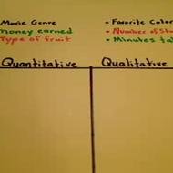 Defining Categories of Data