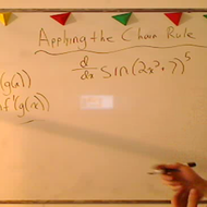 Applying the Second Form of the Chain Rule