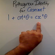 Solving a Pythagorean Identity for Cosecant