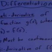Anti-Differentiation