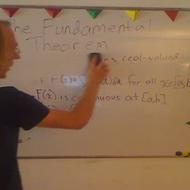 First Fundamental Theorem of Calculus