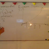 Computing a Trapezoidal Riemann Sum