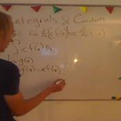 Integrals and Constants