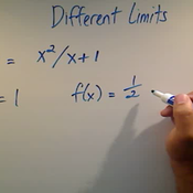 Differing Limits in a Function