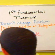 First Fundamental Theorem of Calculus