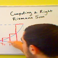 Finding a Right Riemann Sum