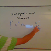 Integrals and Powers