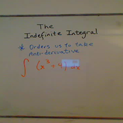 The Indefinite Integral