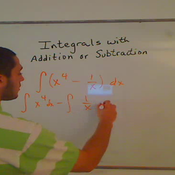 Integrals with Addition or Subtraction