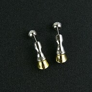 Burberry Palladium-plated Earrings