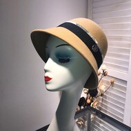 Burberry Wool Hat In Camel