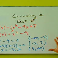 Choosing a Test Number