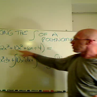 Taking the Integral of a Polynomial