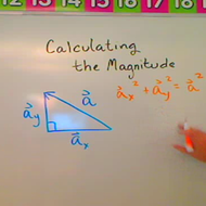 Calculating the Magnitude of a Vector
