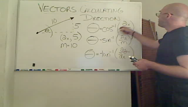 Calculating the Direction of a Vector