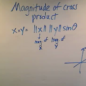 Magnitude of a Cross Product