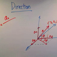 Calculating the Direction of a 3-Vector