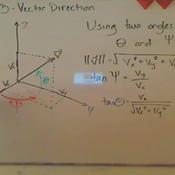 Direction of 3-Vectors