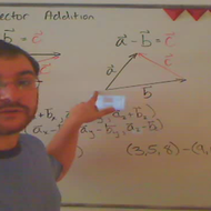 Adding and Subtracting 3-Vectors