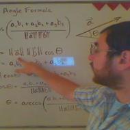 Vector Angle Formula